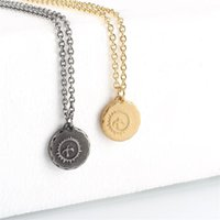 Mens Punk Hawk Ожерелья из нержавеющей стали Урожай монеты Орел кулон ожерелье для мужчин Байкер Животные Ювелирные Изделия Аксессуары1 1604 V2