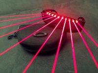 Decoración de la fiesta DJ Muestra Light Up Glass Discotecas NightClub Etapa Red Láser Flashing Luminiscente LED LED Regalos Suministros