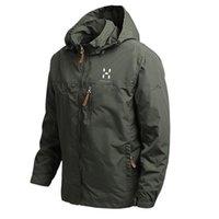 Men's Jackets 2021 Fashion Brand Windproof Jacket Raincoat Mens Sportswear Outdoor Hooded Soft Shell -40