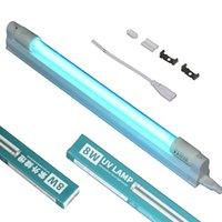 Con scatola 8W luci UVC Lampada germicida Lampada da sterilizzatore UV 30cm Integrazione T8 LED Tube Bulb Ultraviolet Disinfezione