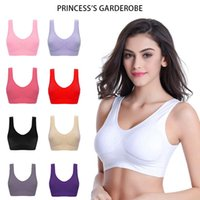 Bras Women Plus Size 4XL Sexy Seamless Bra No Pad Brassiere Yoga Sports Solid Vest Wireless Active