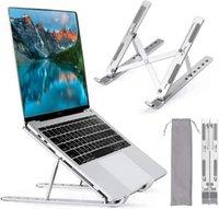Laptop Tablet PC Stand para mesa Alumínio Liga Basus Caderno Acessórios Dobrável Suporte Suporte
