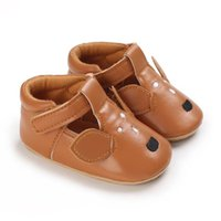 First Walkers For 0-1 Year Old Baby Shoes Rubber Soled Cartoon Casual Pu Prewalkers