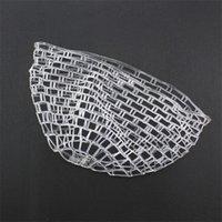 Ampia rete di ricambio in gomma trasparente da 47 pollici per la rete di atterraggio della pesca 1012 Z2