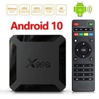 X96Q Android 10.0 TV Box 2GB + 16 GB AllWinner H313 Quad Core 4K 2.4G WiFi Smart Media Player PK TX3 H96 Max