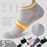 Summer Breathable Non-slip Mesh Ladies Socks 10 Color Sports Ankle Socks Summer Cool and Comfortable Sports Woman Socks