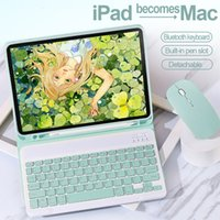 Bluetooth Keyboard Mouse Case For iPad 5th 6th 7th 8th Air 1 2 3 4 Pro 9.7 10.5 11 Smart Cover