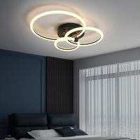 Chandeliers Modern LED Chandelier For Living Room Bedroom Study Gold Black Lighting Light Fixtures AC110V 220V