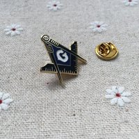 Freemason Craft и квадратный компас Blue Lodge Enamel Brouches 10 шт. Осложневые булавки металл Masonic Regalia Совместный PIN-карты Подарок Cgheg