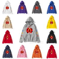 Squid game fleece hoodies 123 wooden man hooded jacket autumn winter tops loose pullover cartoon blouses coat cartoon hoodie sportswear tracksuit clothes G0072NK