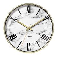 Wall Clocks Digital Clock Modern Design Marble Pow Guess Women Watch Mechanism Secret Stash Silent Gold Decorations 50Q234