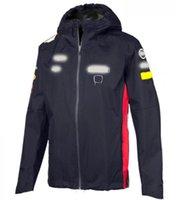 F1 Fórmula uno Traje de carreras Jacket de manga larga Cortavientos Primavera Otoño Invierno Equipo 2021 Nueva Chaqueta Suéter caliente personalización