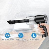 Aspirateur sans fil nettoyeur de voiture de poche 5500Pa 120w forte aspiration mini portable VACUMM pour bureau ASPIRADORA