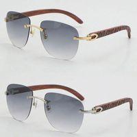 Venda por atacado vendendo originais madeira óculos de sol UV400 lente metal unisex grande forma de moda de madeira óculos de sol 18k goggle c decoração masculino e feminino