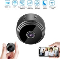 A9 보안 카메라 풀 HD 1080P 2MP WiFi IP kcamera 나이트 비전 무선 미니 홈 안전 감시 마이크로 소형 캠 원격 모니터 전화 OS Android 앱