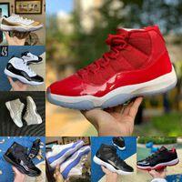 Air Jordan 11 retro jordans Nike Verkaufen 2021 Jubiläum Pantone Bred 11 11s Basketballschuhe 25. Jubiläumsraummarmelade Gamma Blue Ostern