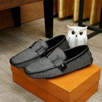 Hockenheim Mocassin Erkek Tasarımcı Loafer Rahat Ayakkabılar Gerçek Deri Hafif Araba Ayakkabı Erkekler Luxurys Marka Moda Resmi Loafer'lar