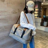 Duffel Bags Women's Sports Bag Travel Waterproof Weekend Suitcases Handbags Luggage Yoga Shoulder For Gym Sac De Voyage