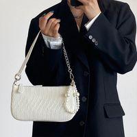 Evening Bags Vintage Small Square Shoulder Bag For Women Pearl Chain Ladies Tote Handbags Clutch Purse Fashion Female Crossbody