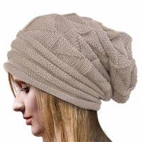 Beanie Skull Caps Knitting Hats Winter Crochet Hat Wool Knit Beanie Warm For Women Thicken Ski Bucket Femme Designer Bonnets