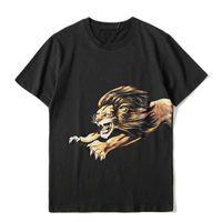 Mens T Shirt Famoso Homens Mulheres Clássico Verão Preto Tshirt Fashion tripulante solto Pescoço Streetwear Manga curta tamanho S-XXL