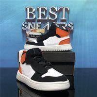 Top Quality 2021 Jumpman 1 Faible Bébé Bébé Bébé Basketball Chaussures Travis Scotti Mid Phantom Chicago Boy Filles Enfants Enfants Enfants Sport Entraîneur Sneaker Taille 22-35 EUR