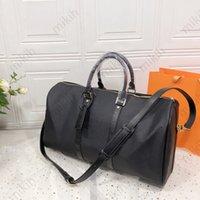 Мода Duffel Сумки на открытом воздухе Сумка для большой емкости Путешествующая сумка Классический дизайн печати 50см для мужчин и женщин Высококачественная сумка Кошелек