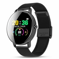 Touch Screeen Smart Watch Waterproof Heart Rate Monitor Fitness Tracker Sport Bracelet SmartWatch Men Women for Android IOS Phones