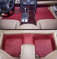 Auto-Bodenmatte geeignet für Infiniti-FX35-FX37-FX50-G37-Q40-Q50-Q60-Q0-Q0-Qx50-QX60car-Matte, Luxus-Custom-Allwetter-Automatte