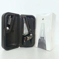 Buff C E Cigarro Vaporizador Starter Kit Mais Smartest Handheld Eletrônico Dab Rig Puff Pea K para cera Seco Erva de Vidro de Água Bongo Tubulação de Fumo de Alta Qualidade