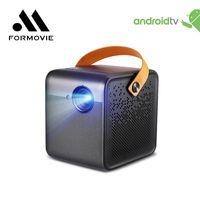 Fengmi Dice Mini Projektor Xiaomi TV Full HD 1080p Batterie Android Portable LED für Google YouTube Home Cinema Globale Version