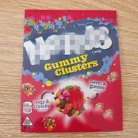 Ambalaj Torbaları İlaçlı Halat Isırıklar Ekşi Kümeler Tatlı Gummy Sweetarts Gummies Çanta Koku Geçirmez 600mg Yenilebilir Runtz