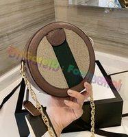 2021 Damenmode Runde Umhängetaschen Klassische Frauen Handtasche Kette Tasche Luxurys Designer Handtaschen Ahoulder Vintage Crossbody Totes Geldbörsen Multi Pochette Brieftasche