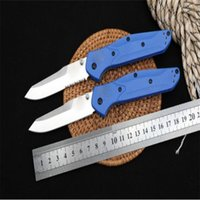 Special Butterfly 940 Folding Knife Half Tooth With Blue Hand - Full S30V Sharp Blade G10 Handle Military Survival Tool Pocket