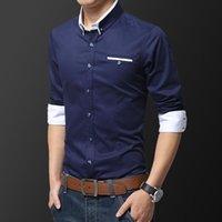 Men's Dress Shirts Autumn Business White Long Sleeve Shirt Classic Casual Professional Workwear Top Talk Work Clothes 5XL