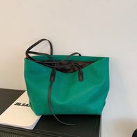 HBP fashion women's handbags trendy large-capacity single-shoulder women's soft leather shopping bags-