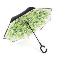 Umbrellas Reverse Women Umbrella Long Handle Uv Protection Windproof Business Beach Guarda Chuva Household Merchandises BD50UU