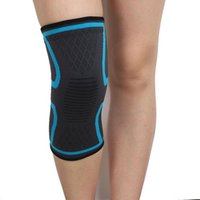 Elbow & Knee Pads Fitness Running Cycling Support Braces Elastic Nylon Sport Compression Joints Pad Sleeve For Basketball Volleyball 1PC