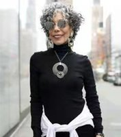 Short gray Human Hair Wigs salt and pepper two tone ombre natural gorgeous grey Curly Afro None Lace 130% Density Wig with bang hairpiece 8-14inch