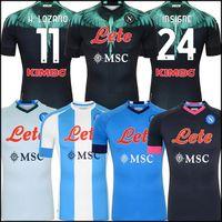 19 20 Napoli futbol forması Napoli futbol forması 2019 2020 KOULIBALY camiseta de fútbol INSIGNE MILIK maillot de foot ALLAN MERTENS camisa