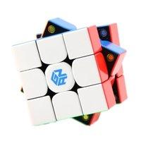 Gan 354M V2 Spection Spece 354 m Stickerless 3x3 Speed Cube Gan 354 v2 m 3x3x3 المغناطيسي Magic Cube Gan354 m v2.0 210804