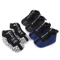 First Walkers Cotton Warm Crystal Little Girls Boots Non-slip Shinning Baby Shoes 2021 Winter Sport Soft Sole For 0-18M