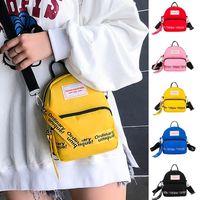 Diaper Bags Mini Shoulder Nylon Casual Street Soft Phone Purse Zipper Purses And Handbags 2021 Crossbody Messenger