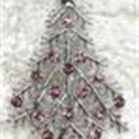 FACTORYWV3Y E Multicolor Crystal Rhinestone al por mayor Tree C549 Pin Broche Regalos de Navidad Brosche Joyería