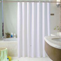 새로운 사용자 정의 샤워 커튼 호텔 욕실 커튼 방수 및 곰팡이 두꺼운 솔리드 욕조 큰 넓은 욕조 커버 12 후크 EWD7315