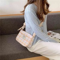 Retro Design Women's Underarm Bag Candy Colours Plate Female Shoulder Crossbody Cups Small Square Ladies Clutch Pure Handbags