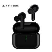 Originale QCY T1C / T5 / T7 / T8 / T10 / T11 / T11 / T110 / T11 / T12 / T13 / T2C / T5 / T13 / T2C / T5PRO Bluetooth Auricolare senza fili TWS Cuffie HiFi Auricolare stereo