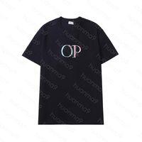 hommes dior T-shirt Causal Brodé lettre T-shirt T-shirt Paires Style Courte Manches Asiatique Taille S-2XL