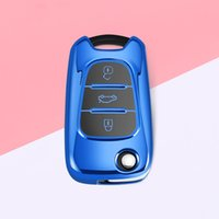 TPU Cover Cover Shell Kia Ceed Picanto Sportage для Hyundai I20 I30 IX35 Аксессуары для автомобилей Romote Key Keychain