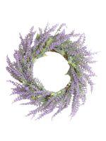Fleurs décoratives Couronnes Couronne de tournesols artificiels Couronne de tournesol Floral pour la fête de la fête de mariage Accueil Décoration de salon